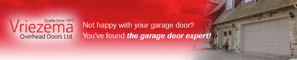 You've found the garage door expert